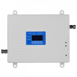 Repetor de semnal GSM Profesional iUni W17GGSM, 2G, Distantare antene 20m, Digital, Alb