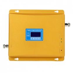 Repetor de Semnal GSM Profesional iUni W17GGD, 3G/2G, Distantare antene 20m, Digital, Auriu