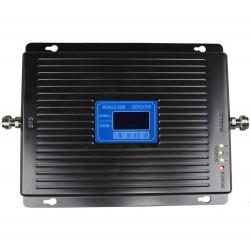 Repetor de semnal GSM Profesional iUni W17BGD, 4G/3G/2G, Distantare antene 20m, Digital, Negru