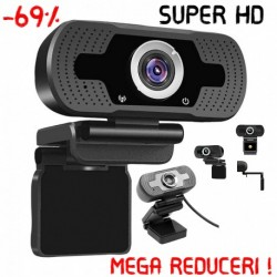 Camera PC Super Mega ,Full HD 1080P,Calitate Premium,+ Cadou