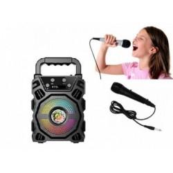 Boxa portabila bluetooth + microfon KTS
