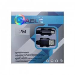 Cablu Date si Incarcare Ultrarezistent SAFE & SPEED CABLE , USB la Micro-USB USB 3.1, 3A Fast Charge, 2