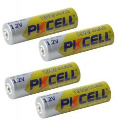 4 Acumulatori R6 (AA), 1300 mAh, 1.2 V, Baterie reincarcabile R6 tip AA, 1.2 V ,1300 mAh