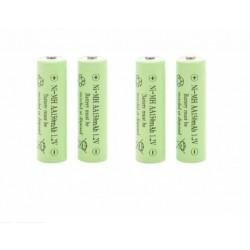 4 Acumulatori R6 (AA), 150 mAh, 1.2 V, Baterie reincarcabile R6 tip AA, 1.2 V ,150 mAh