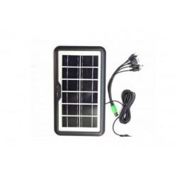 Panou solar portabil, pentru incarcare telefoane USB 1,8W/5V, IP65
