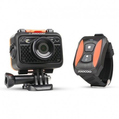 Camera Sport SooCoo S60 WiFi Hotspot 60m cu Telecomanda