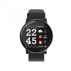 Ceas Smartwatch Techstar® W8 Gri, 1.3 inch IPS, Monitorizare Cardiaca, Tensiune. Oxigenare, Sedentary, Bluetooth, IP65