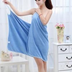 Prosop Tip Halat Baie, Magic Towel, Putere Mare de Absorbtie, Microfibra Superioara, multicolor