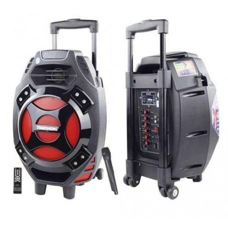 Boxa Troller Temeisheng Q7 Microfon Bluetooth