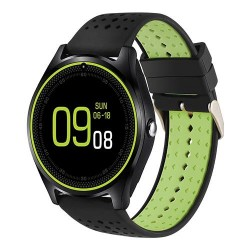 Smartwatch MTK V9 Verde cu Bluetooth si Camera Foto