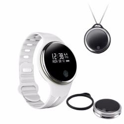 Bratara Fitness Smartband Bluetooth E07 Alb