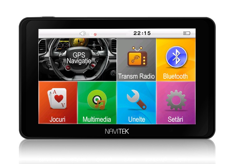 GPS Auto Navitek GoTrack 5 inchi cu Bluetooth