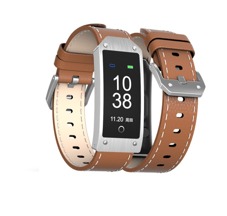 Bratara Sport Fitness Y2 Smartband Bluetooth Maro imagine techstar.ro 2021