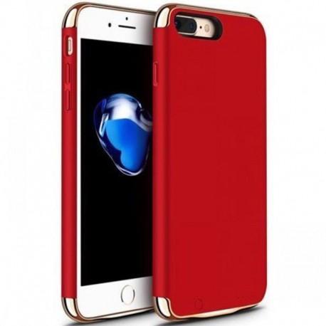 Husa Baterie Ultraslim iPhone 7, iUni Joyroom 2500mAh, Red
