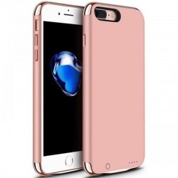 Husa Baterie Ultraslim iPhone 7 Plus, iUni Joyroom 3500mAh, Rose Gold