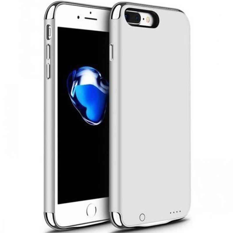 Husa Baterie Ultraslim Iphone 7 Plus/8 Plus, Iuni Joyroom 3500mah, Silver