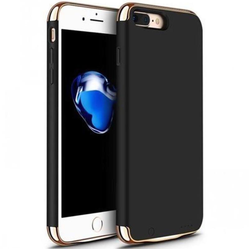 Husa Baterie Ultraslim iPhone 7, iUni Joyroom 2500mAh, Black imagine techstar.ro 2021
