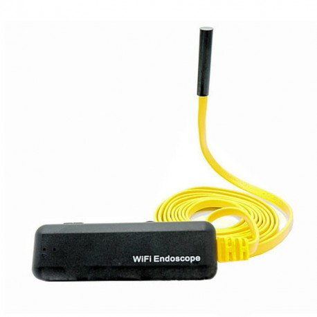 Camera Endoscop Inspectie Auto iUni SpyCam M4, lungime 2 metri, Wireless cu conectare la telefon IOS si Android