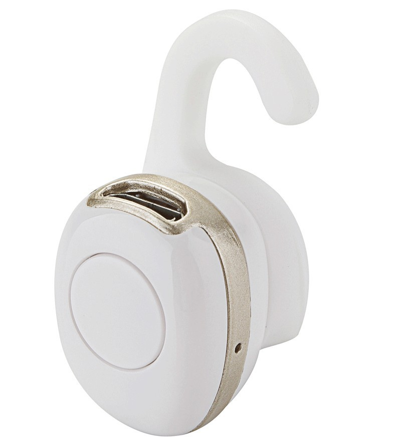 Casca Bluetooth Mini iUni CB03, Handsfree, Gold