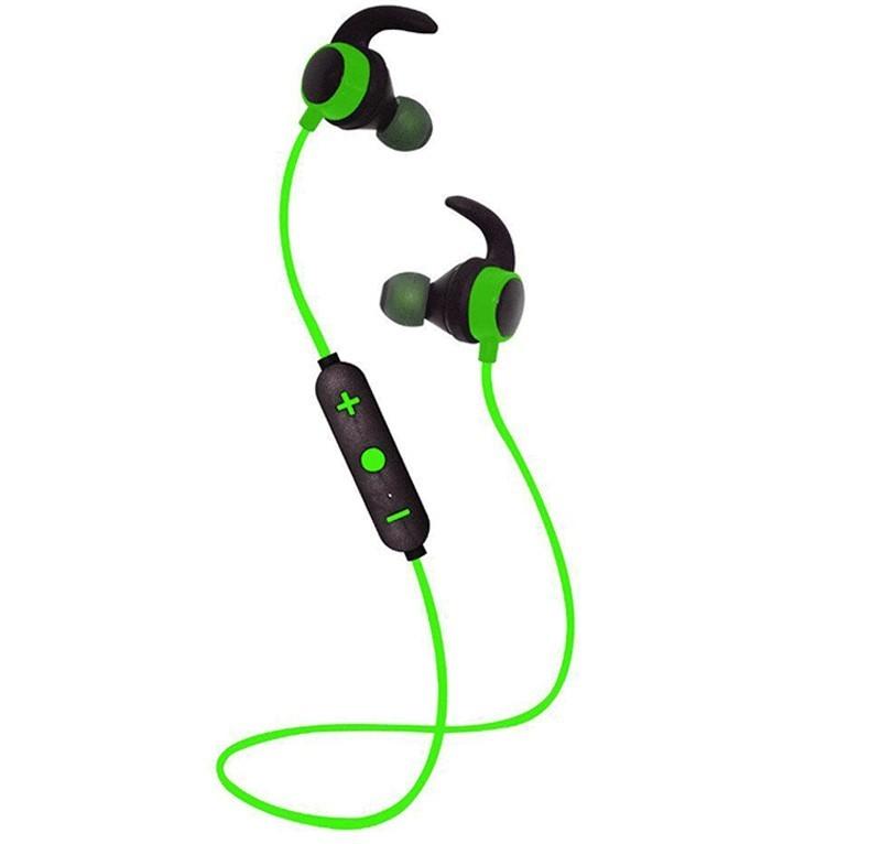 Casti Bluetooth iUni CB12, Green imagine techstar.ro 2021