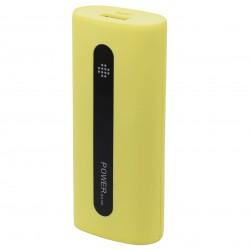 Baterie externa iUni PB14, 5000mAh, Powerbank, Yellow