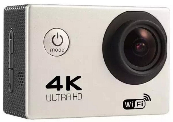 Camera Video Sport 4K iUni Dare 85i, WiFi, mini HDMI, 2 inch LCD, Argintiu + Sport Kit imagine techstar.ro 2021