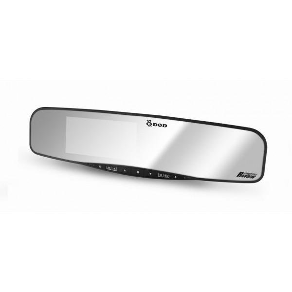 Resigilat! Camera auto DVR DOD RX400W, Full HD, GPS, lentile Sharp, WDR, G senzor, 4.3rdquo; LCD +