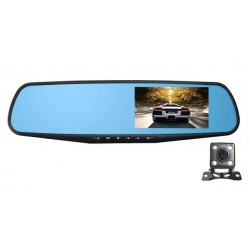Camera Auto iUni Dash B900H Oglinda, Dual Cam, Full HD, Night Vision, Foto, Playback, Senzor G