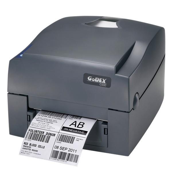 Imprimanta termica Godex G500 iUni, 203Dpi, Rola de Ribon transfer termic inclusa imagine techstar.ro 2021