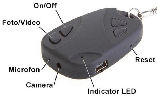 Breloc Spion iUni SpyCam 808