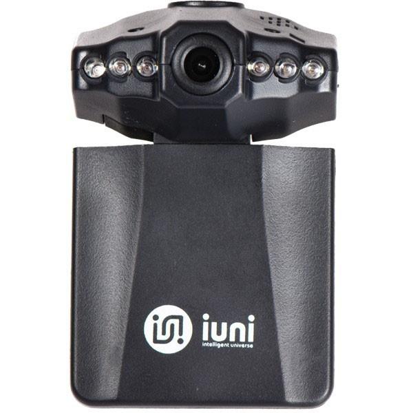 Camera auto DVR iUni Dash P189i, HD, Ecran rotativ LCD 2,5 inch, Unghi de filmare 120 grade, Playbac
