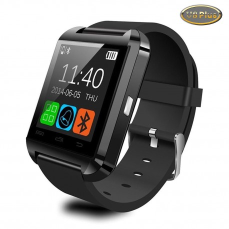 Smartatch U-Watch Bluetooth U8 Plus Negru compativil MicroSD