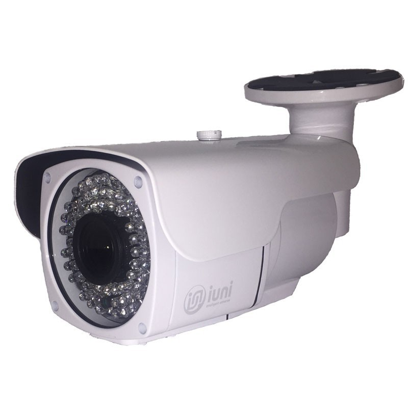 Camera supraveghere iUni ProveCam AHD 1018B, lentila varifocala 2.8 - 12mm, 1MP, 42 led IR
