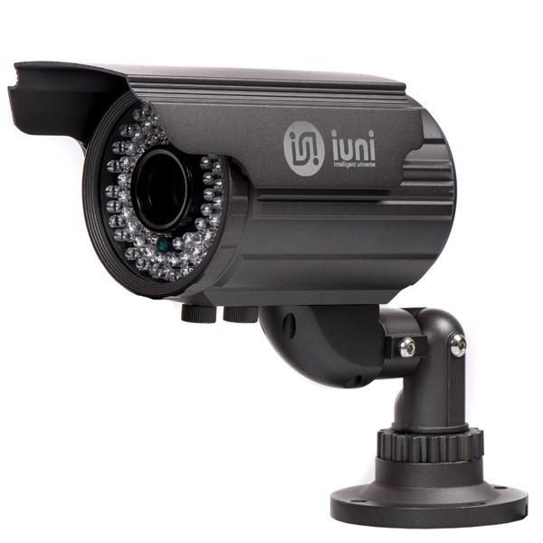 Camera Supraveghere iUni ProveCam 6001, CCD Sony Effio-E, 600 linii, 72 led IR, lentila varifocala 2,8-12mm imagine techstar.ro 2021