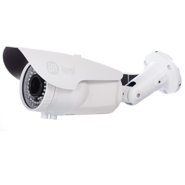 Camera Supraveghere iUni ProveCam 6046, CCD Sony, 600 linii, 42 led IR, lentila varifocala 2,8-12mm imagine techstar.ro 2021