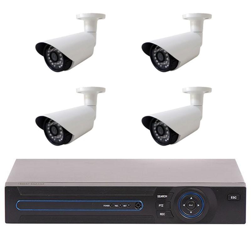 Sistem Supraveghere 4 Camere iUni FULL HD 1080p, 36 Led IR, 1080p, HDMI, VGA, 2 USB imagine techstar.ro 2021