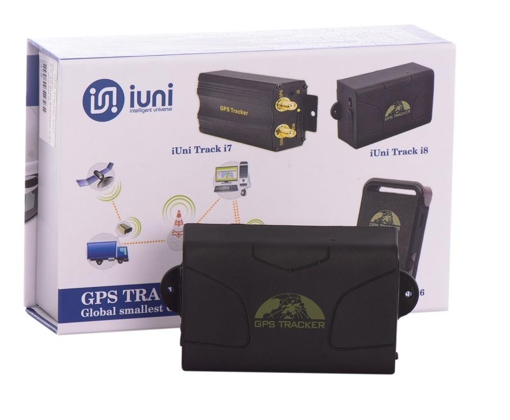 gps tracker auto iuni track i8 cu magnet, localizare si urmarire gps, autonomie 60 zile fara conectare la bateria masinii