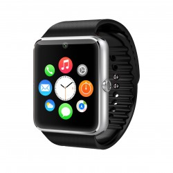 Smartwatch U-Watch GT08 Bluetooth Negru Compatibil MicroSD