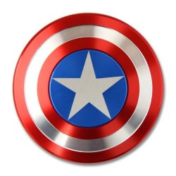 Fidget Spinner Captain America Metalic iUni SM6, Ultrarapid