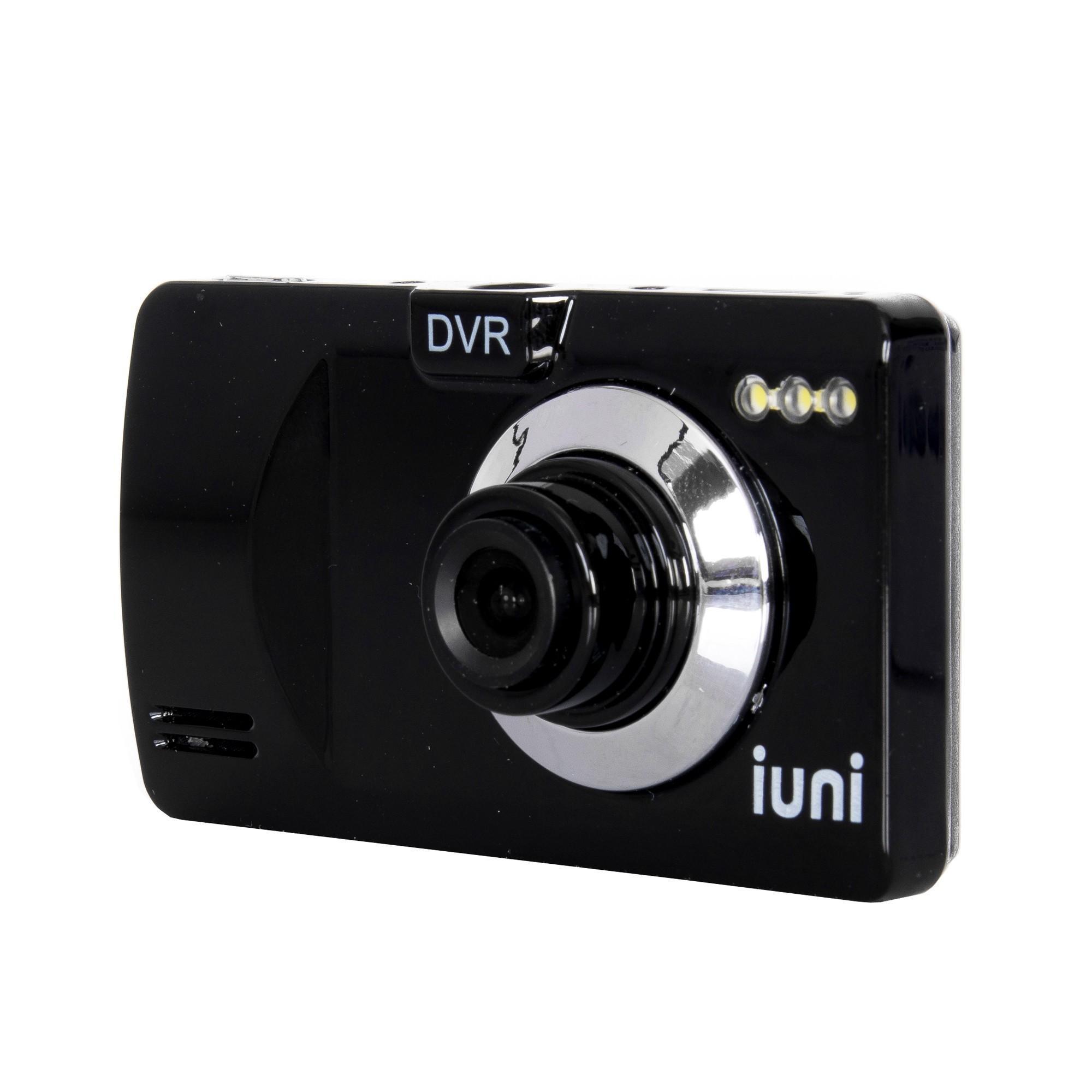 Camera auto DVR iUni Dash P818, HD, LCD 2,5 inch, Unghi de filmare 120 grade, Playback