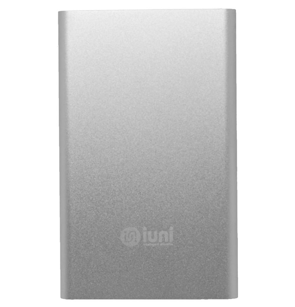 Baterie externa iUni PB11, 5000mAh, Powerbank, Silver imagine techstar.ro 2021