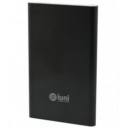 Baterie externa iUni PB11, 5000mAh, Powerbank, Black