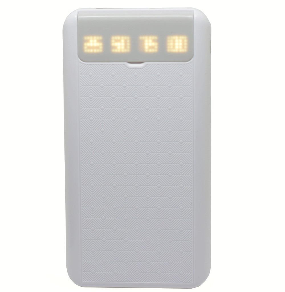Baterie externa iUni PB12, 10000mAh, Dual USB, Powerbank, Grey