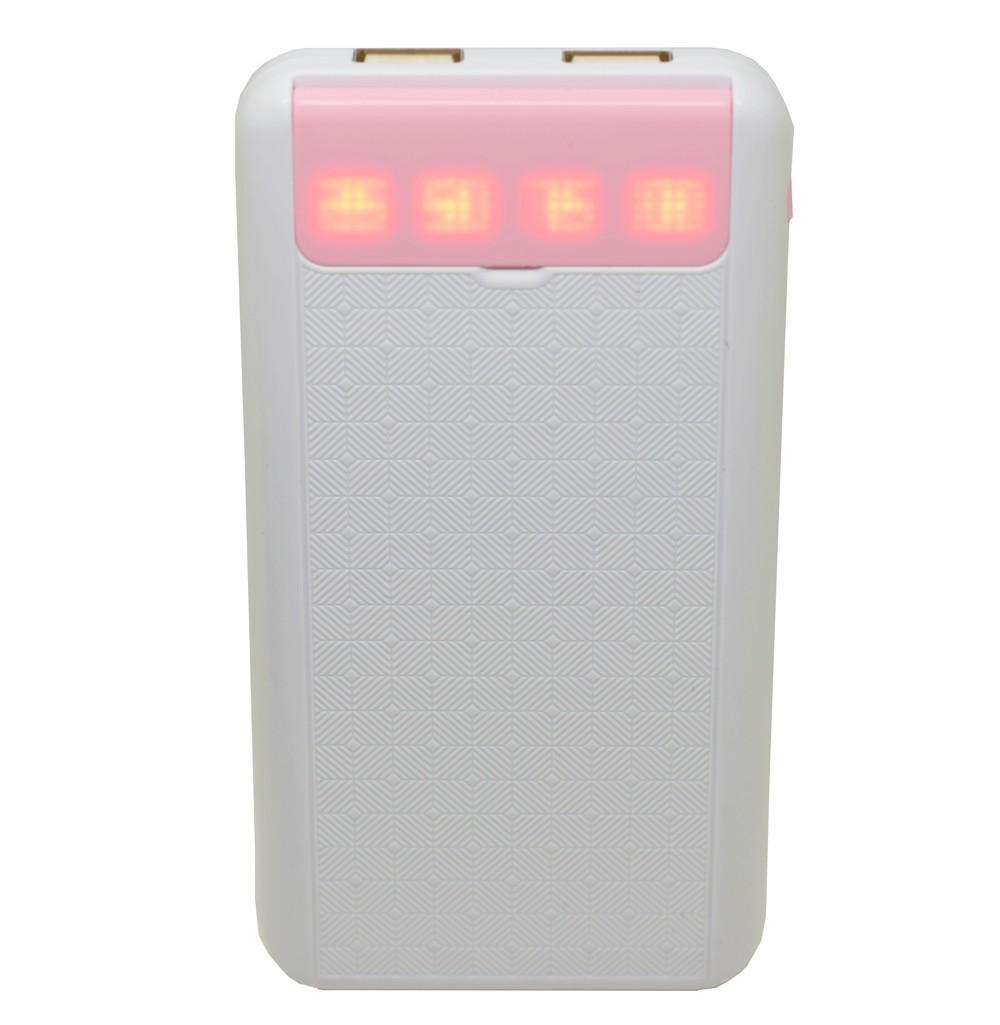 Baterie externa iUni PB12, 10000mAh, Dual USB, Powerbank, Pink