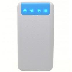 Baterie externa iUni PB12, 10000mAh, Dual USB, Powerbank, Blue