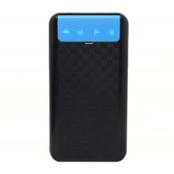 Baterie externa iUni PB12, 10000mAh, Dual USB, Powerbank, Black