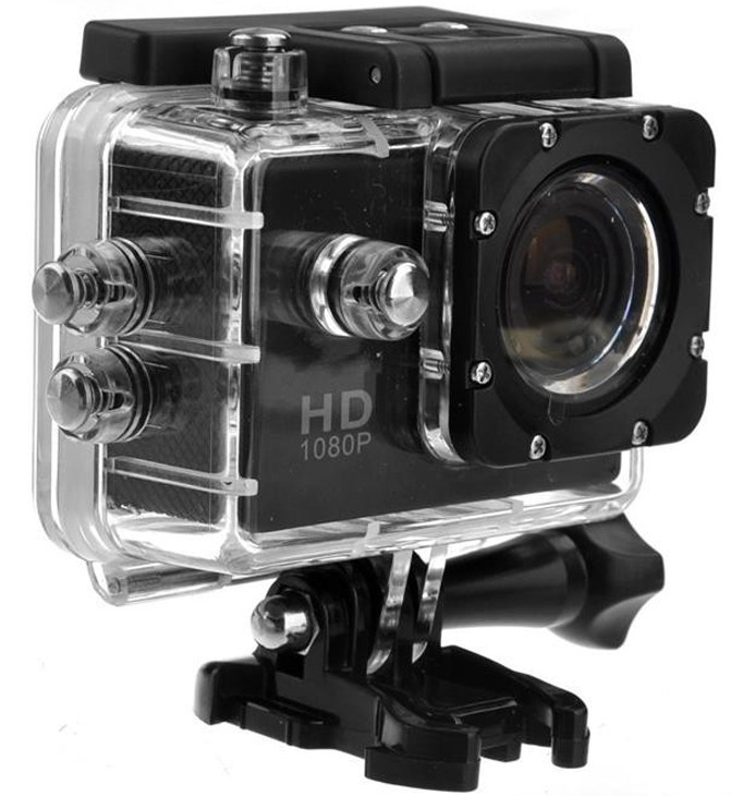 Camera Sport Iuni Dare 50i Hd 1080p, 12m, Waterproof, Negru