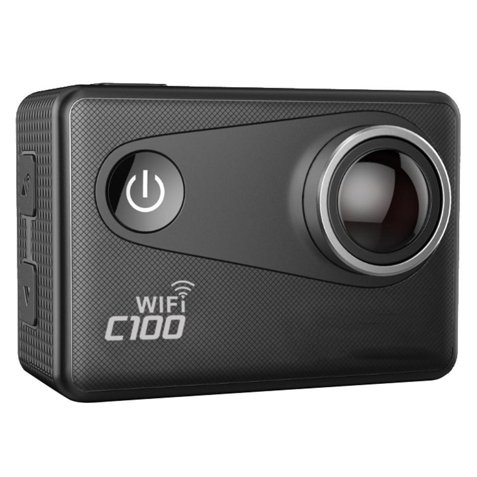 Camera Video Sport 4K iUni Dare C100 Black, WiFi, GPS, mini HDMI, 2 inch LCD, by Soocoo imagine techstar.ro 2021