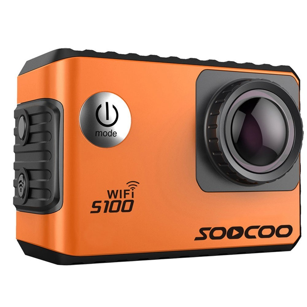 Camera Video Sport 4K iUni Dare S100 Orange, WiFi, GPS, mini HDMI, 2 inch LCD, by Soocoo imagine techstar.ro 2021