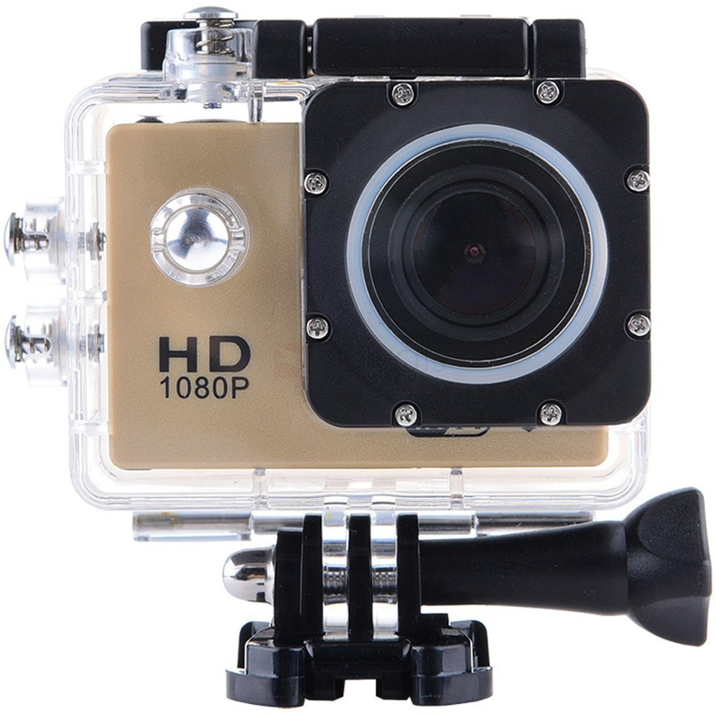 Camera Sport Iuni Dare 50i Hd 1080p, 12m, Waterproof, Auriu